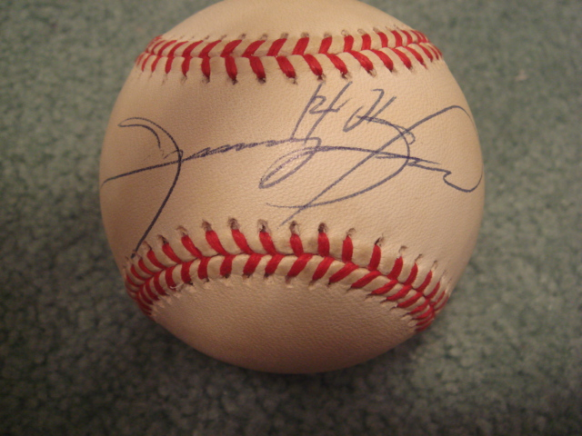 Sammy Sosa Autographed Official N.L. Baseball With PSA COA
