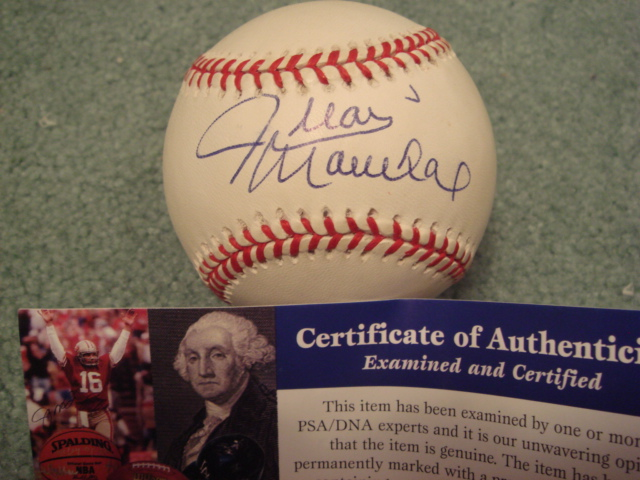 Juan Marichal Autographed Official A.L. Budig Baseball With PSA COA