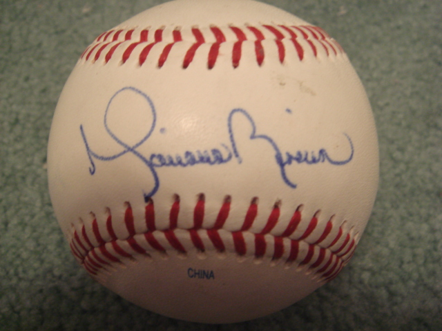 Mariano Rivera Autographed Official Eastern  Minor League Baseball With PSA COA