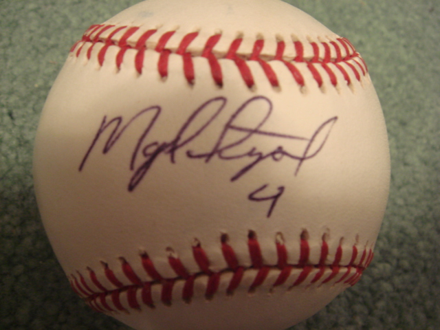 Miguel Tejada Autographed Official A.L. Baseball With PSA COA