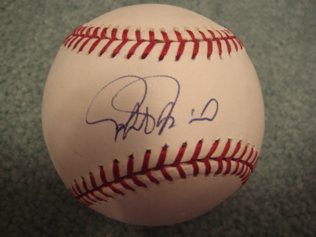 Rafael Palmeiro Autographed Official MLB Baseball With PSA COA