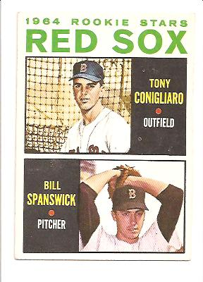 1964 Topps #287 T.ConigRC/B.SpansRC EXMT Actual scan