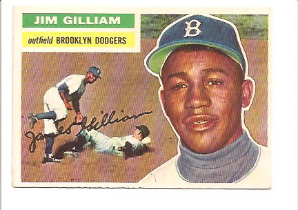 1956 Topps #280 Jim Gilliam