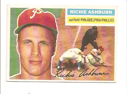 1956 Topps #120 Richie Ashburn