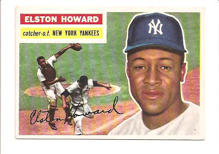 1956 Topps #208 Elston Howard