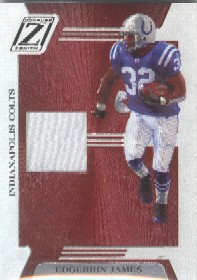 2005 Zenith Z-Jerseys #35 Edgerrin James