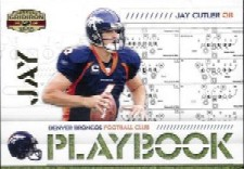 2008 Donruss Gridiron Gear Playbook Gold #12 Jay Cutler