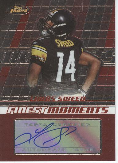 2008 Finest Moments Autographs #FMALS Limas Sweed C