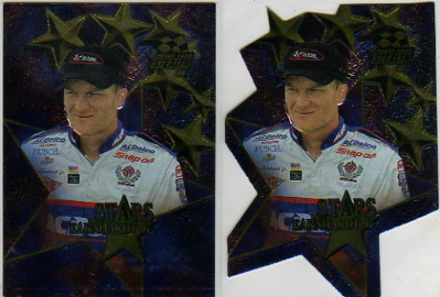 1998 Press Pass Stealth Stars Die Cuts #3 Dale Earnhardt Jr.