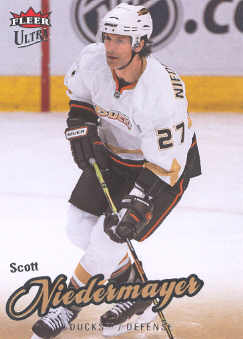 2008-09 Ultra #108 Scott Niedermayer