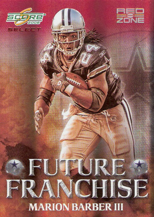 2008 Select Future Franchise Red Zone #10 Marion Barber
