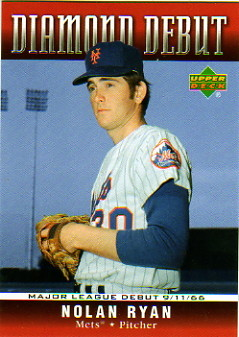 2006 Upper Deck Diamond Debut #DD32 Nolan Ryan