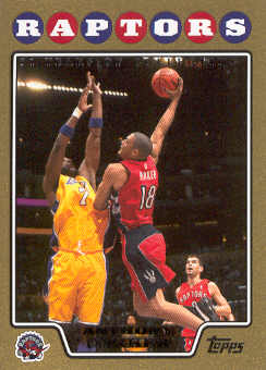 2008-09 Topps Gold Border #155 Anthony Parker