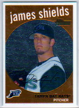 2008 Topps Heritage Chrome #C48 James Shields