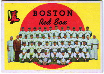 1959 Topps #248 Boston Red Sox CL