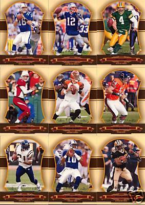 2007 Donruss Classics Football Complete Base Set (1-100) (Includes Tony Romo, Peyton Manning, Tom Brady, Brett Favre, Ladainian Tomlinson, Ben Roethlisberger & more)