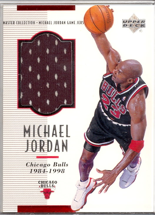 1999-00 Upper Deck MJ Master Collection Game Jerseys #MJGJ4 Michael Jordan