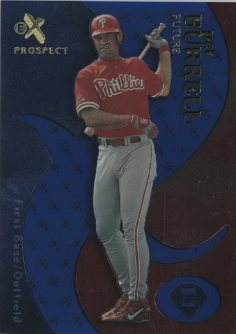 2000 E-X Essential Credentials Future #88 Pat Burrell/3