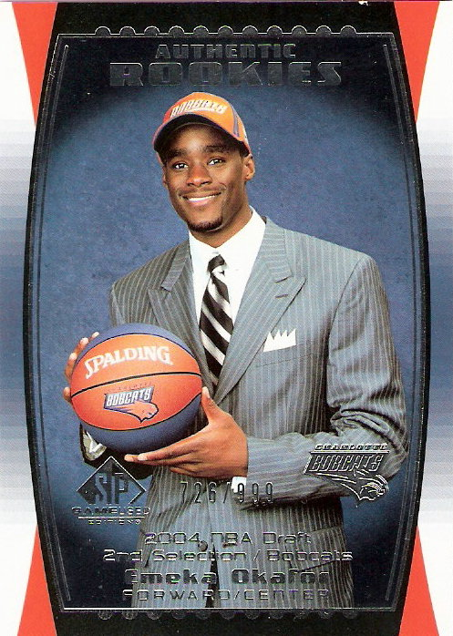 2004-05 SP Game Used #91 Emeka Okafor RC