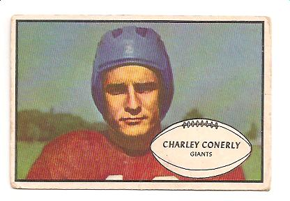 1953 Bowman #20 Charley Conerly