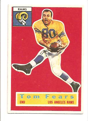 1956 Topps #42 Tom Fears