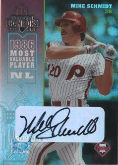 2003 Donruss Champions Autographs #200 Mike Schmidt/20