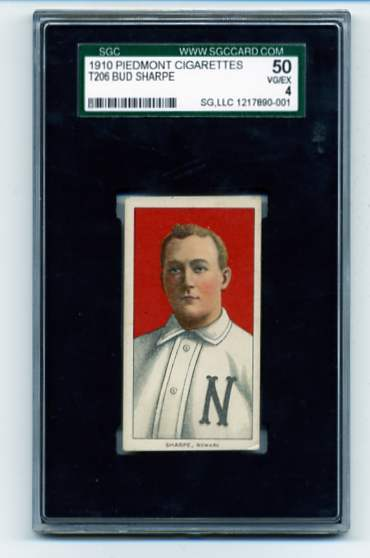 1909-11 T206 #439 Bud Shappe ERR (Sharpe) ML