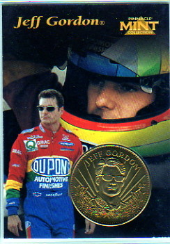 1997 Pinnacle Mint Coins #2 Jeff Gordon