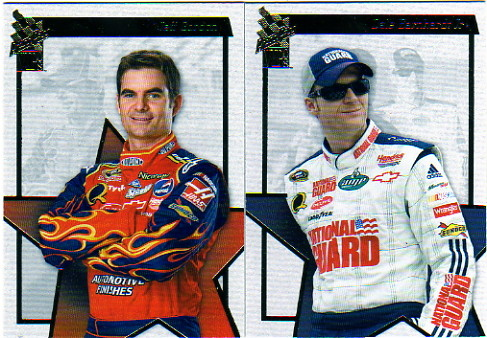 2008 Press Pass VIP Racing Complete Base Hobby Set of 90 Cards - Jeff Gordon - Dale Earnhardt, Jr. & More