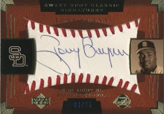 2004 Sweet Spot Classic Signatures Blue #61 Tony Gwynn/25