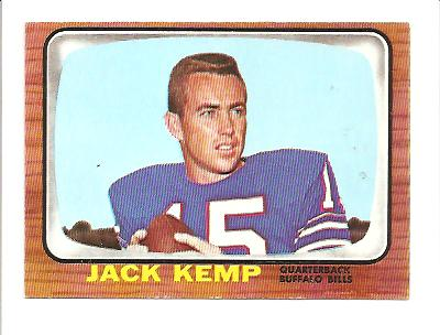 1966 Topps #26 Jack Kemp EXMT Actual scan