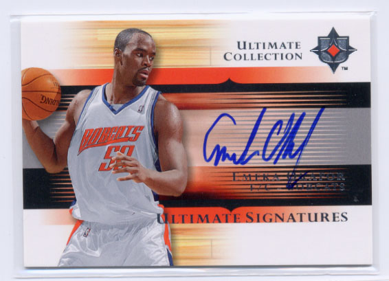 2005-06 Ultimate Collection Signatures #USEO Emeka Okafor