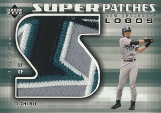 2004 Upper Deck Super Patches Logos 1 #IS Ichiro Suzuki/20