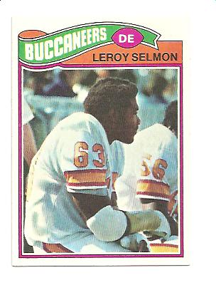 1977 Topps #29 Lee Roy Selmon UER RC