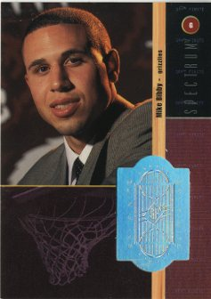 1998-99 SPx Finite Spectrum #212 Mike Bibby front image