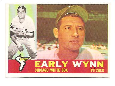 1960 Topps #1 Early Wynn NM Actual scan