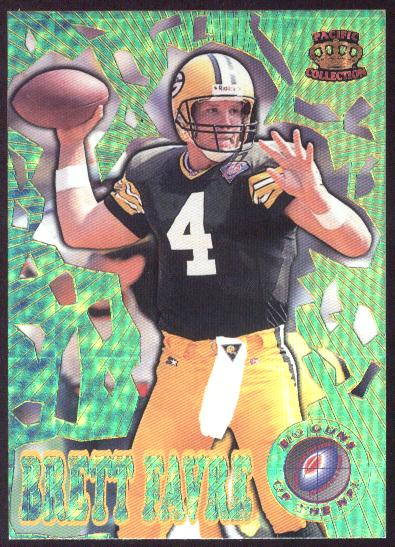 1995 Pacific Triple Folders Big Guns #BG6 Brett Favre