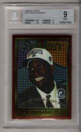 1995-96 Finest Kevin Garnett BGS  9.0 ROOKIE! NICE!!