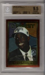 1995-96 Finest Kevin Garnett BGS  9.5 ROOKIE! BEAUTIFUL!!