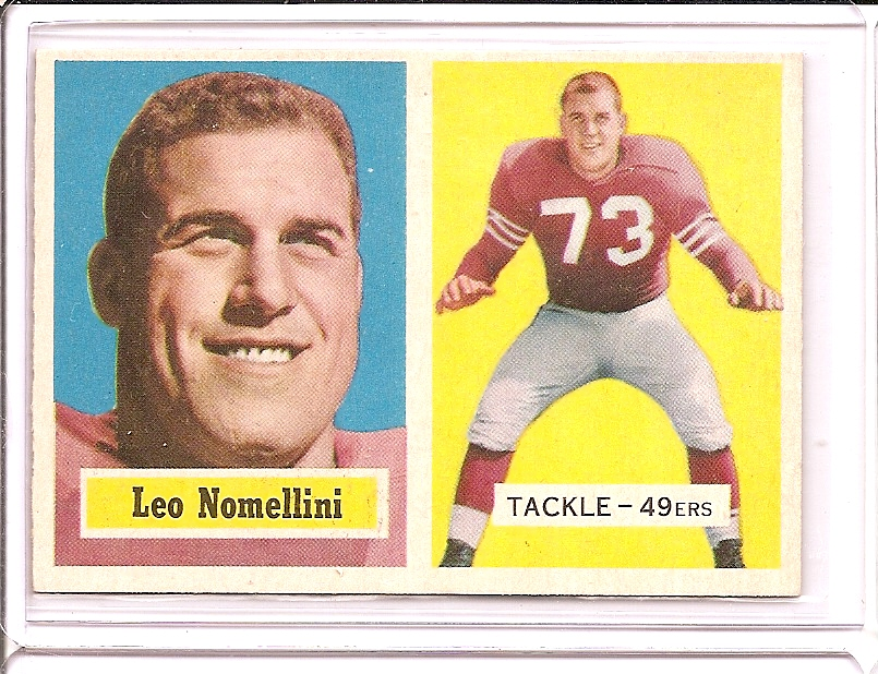 1957 Topps #6 Leo Nomellini
