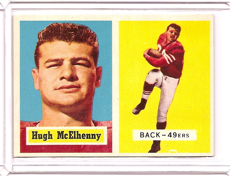 1957 Topps #95 Hugh McElhenny