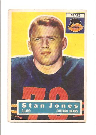 1956 Topps #71 Stan Jones RC