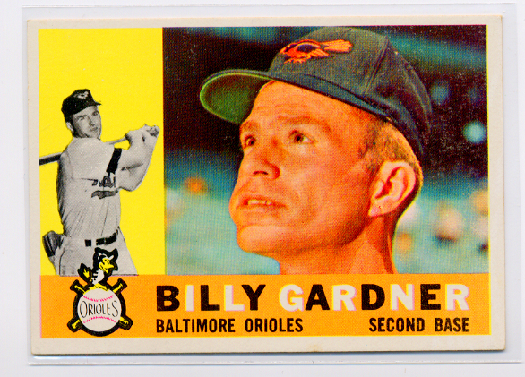 1960 Topps #106 Billy Gardner