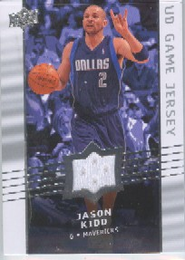 2008-09 Upper Deck Game Jerseys #GAJK Jason Kidd