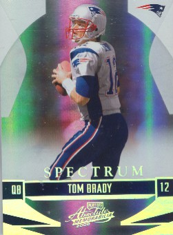 2008 Absolute Memorabilia Spectrum Silver #87 Tom Brady