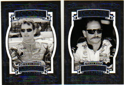 2008 Press Pass Legends Blue #58 Dale Earnhardt I