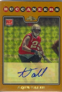 2008 Topps Chrome Superfractors #TC261 Aqib Talib