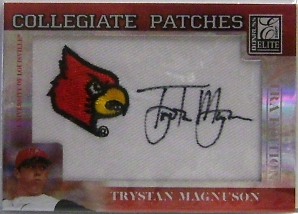 2007 Donruss Elite Extra Edition Collegiate Patches #55 Trystan Magnuson/248
