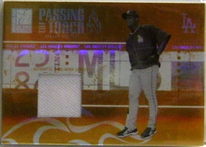 2005 Donruss Elite Passing the Torch Jerseys #1 Adrian Beltre/250