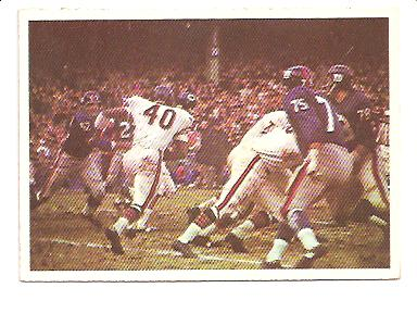 1966 Philadelphia #39 Bears Play/Gale Sayers